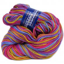 FANTASY NATURALE from Plymouth.  A chainette mercerized Cotton in solids and multi color.