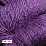 Green Line Yarn from Jagger Spun. Color  Dark Lilac