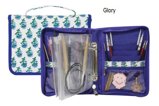 Knitter's Pride Fixed Knitting Needle Case in Glory Pattern #8022