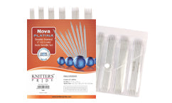 "Nova Platinia Double Pointed 5"" Knitting Needles Set"