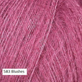 Kidsilk Haze Yarn from Rowan Yarn.  Color #583 Blushes