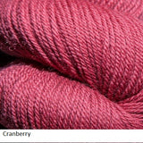 Green Line Yarn from Jagger Spun. Color  Cranberry