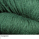 Green Line Yarn from Jagger Spun. Color  Evergreen