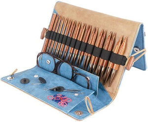 Ginger Interchangeable Knitting Needle Set by Knitter's Pride