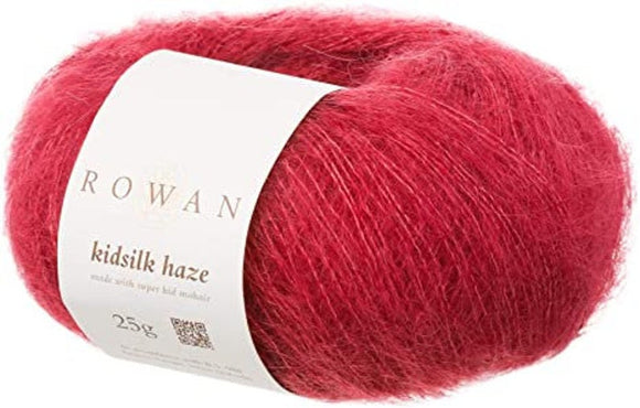 Kidsilk Haze Yarn from Rowan. A blend of Mohair and Silk