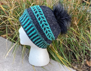 Zebra Crossing Hat Class.  Saturdays February 13, 20 and 27.  From 3pm to 5pm