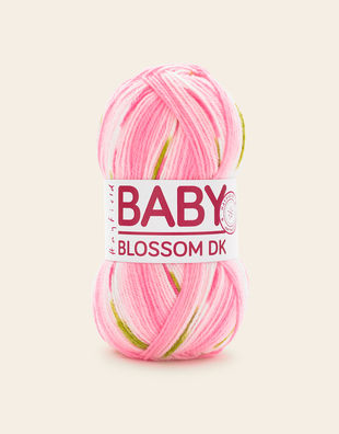 BABY BLOSSOM CHUNKY from Hayfield. Acrylic and Nylon