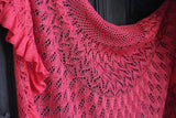 BLOOM by Reywa Fibers. A lovely lace blend of Tibetan Yak Down and Silk