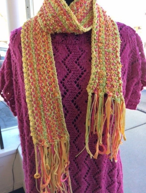 Summer Cotton Scarf  with Beads Kit