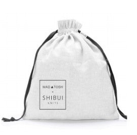 MT + SK Project Bag. A Limited project bag for the Madlinetosh + Shibui collection.