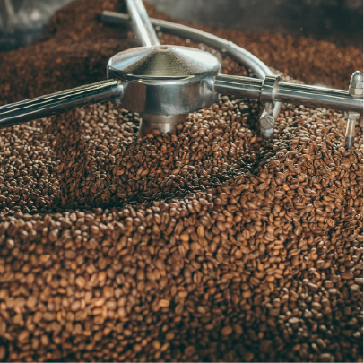 Picture of Coffee being roasted