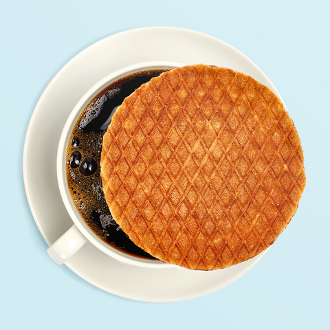 Wafel and Coffee