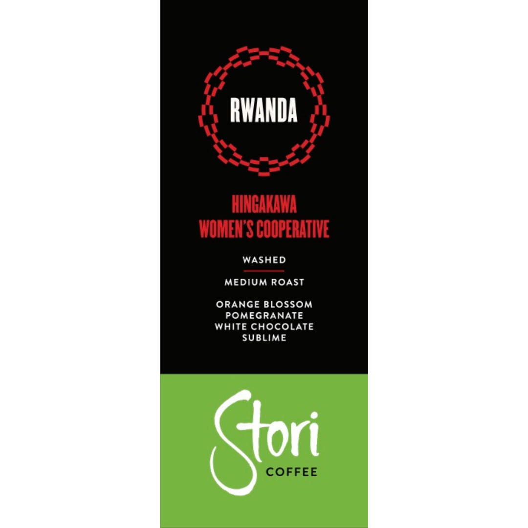 Rwanda Hingakawa Single-Origin Terroir Whole Bean