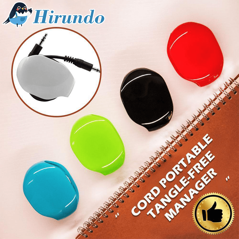 Hirundo® Cord Tangle-Free Portable Manager