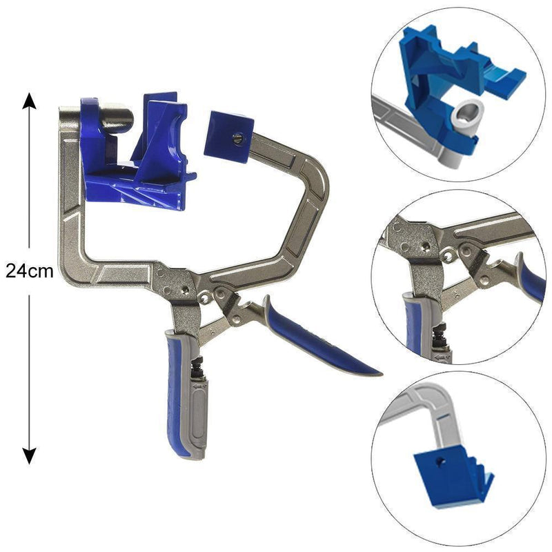 "Saker 90° Corner & ""T"" Joints Corner Clamp"