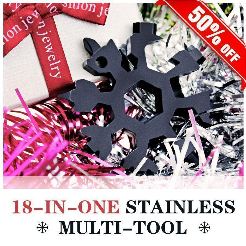 Amenitee® 18-in-1 Snowflake Multi-Tool (gift set)