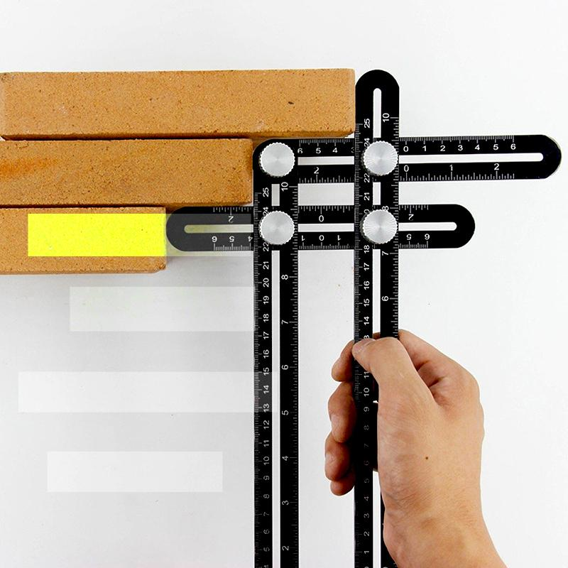 Megachooses™Angle Layout Measuring Ruler