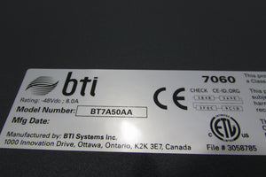 BTI Systems BT7A50AA