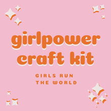 Load image into Gallery viewer, girls run the world craft kit