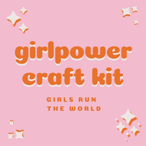 girls run the world craft kit