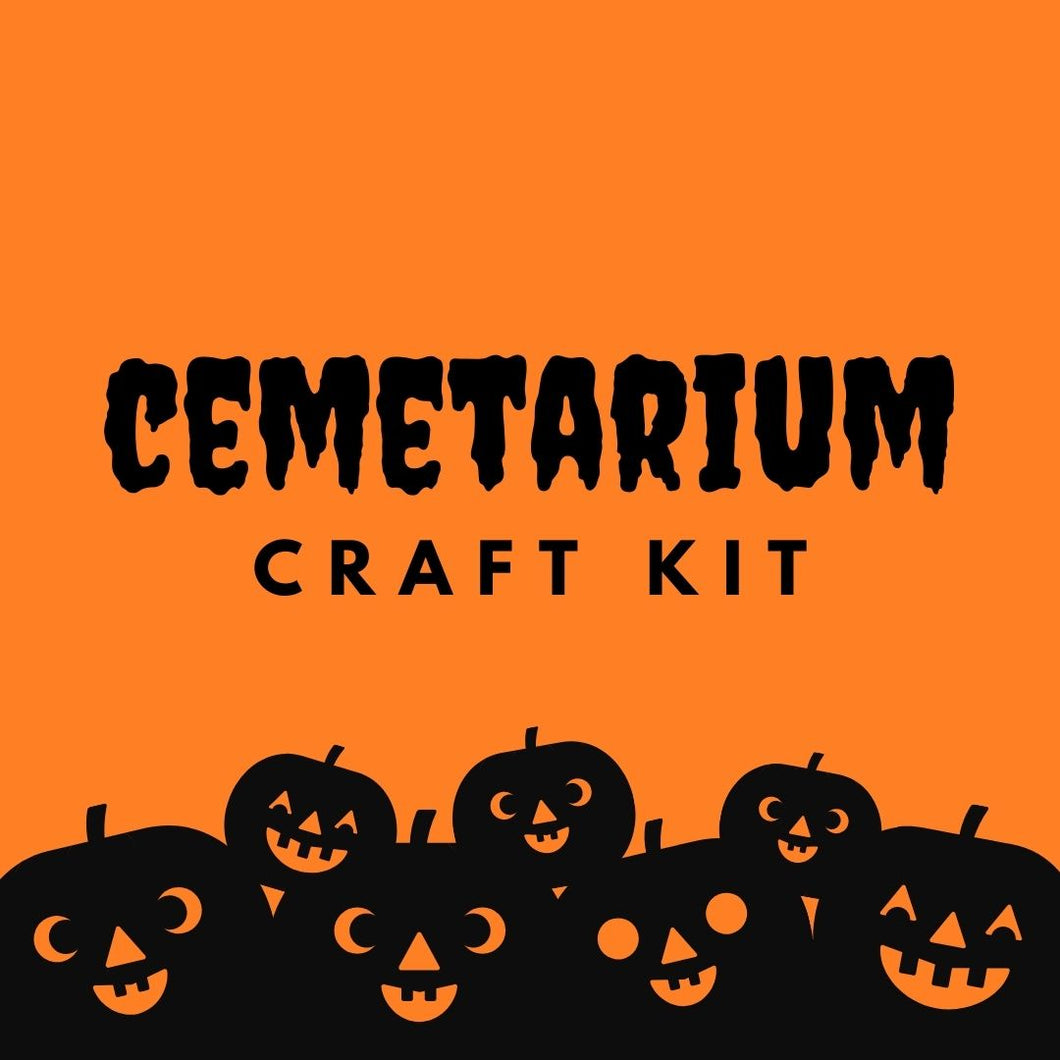 Cemetarium Craft Kit