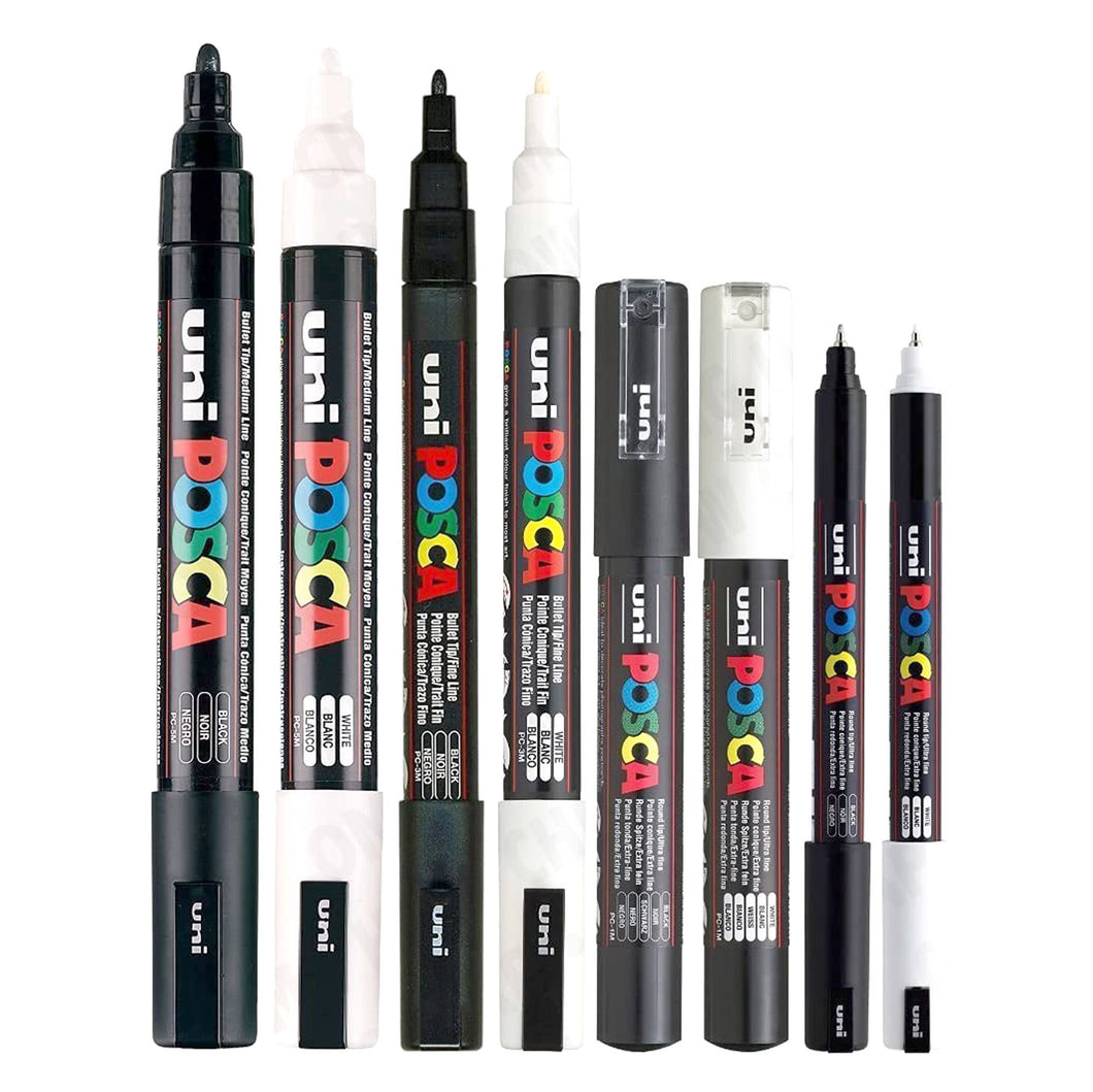 posca paint pen set