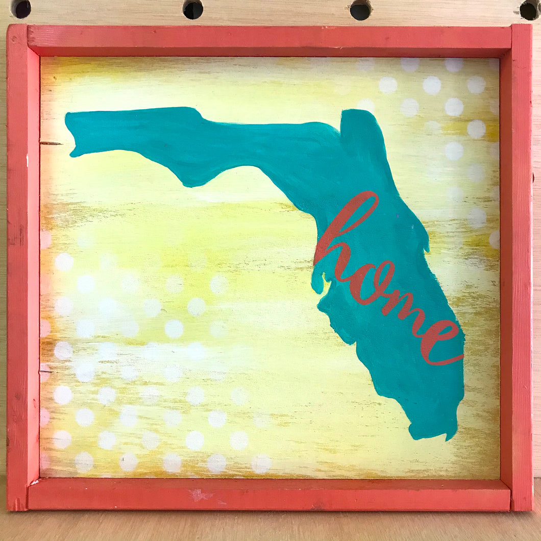 Local Love 2 (Framed Wood Sign)