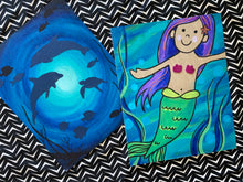 Load image into Gallery viewer, mermaid tales craft kit