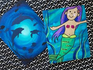 mermaid tales craft kit