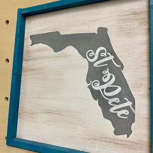 Local Love (Framed Wood Sign)
