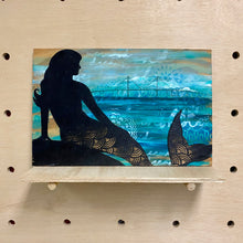 Load image into Gallery viewer, Skyway Mermaid (original painting)