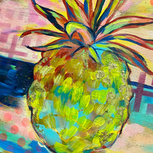 Load image into Gallery viewer, Perky Pineapple (original painting)