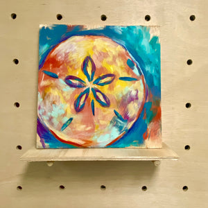 Shell yeah!  Sand dollar (original painting)