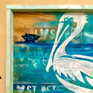 Pelican Pete (original painting)