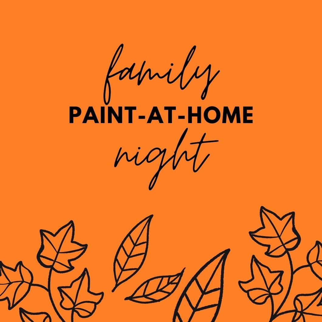 Fall Family Paint Night