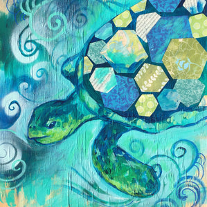 Myrtle the Sea Turtle Painting Kit