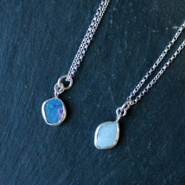 Galaxy Opals Necklace