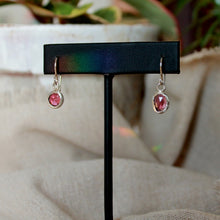 Load image into Gallery viewer, Garnet Earrings