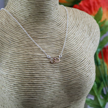 Load image into Gallery viewer, Eternal Ring Rose Gold Necklace