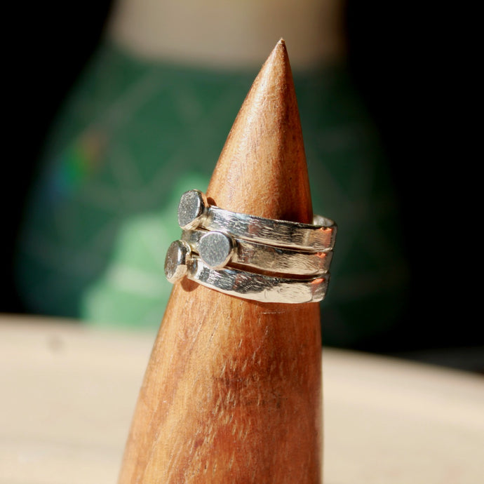 Everlasting Recycled Silver Rings