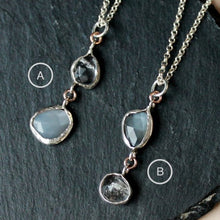 Load image into Gallery viewer, Moon Diamond Necklaces
