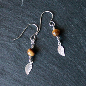 Tigers Leafs Earrings