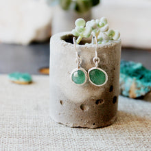 Load image into Gallery viewer, Green Aventurine Earrings