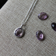Load image into Gallery viewer, February Birthstone Necklace