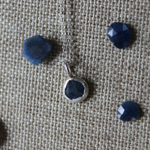 Load image into Gallery viewer, September Birthstone Necklace - Sapphire