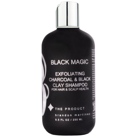 Clarifying Charcoal & Activated Black Clay Shampoo For Detox, Moisture & Repair