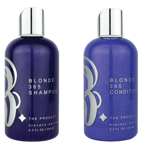 Blonde 365 Shampoo + Conditioner Set For Brassy Hair