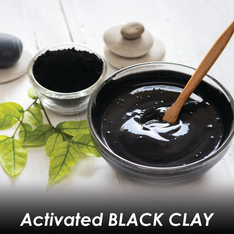 Black Magic Charcoal And Black Clay Detox Hair Mask 8oz.