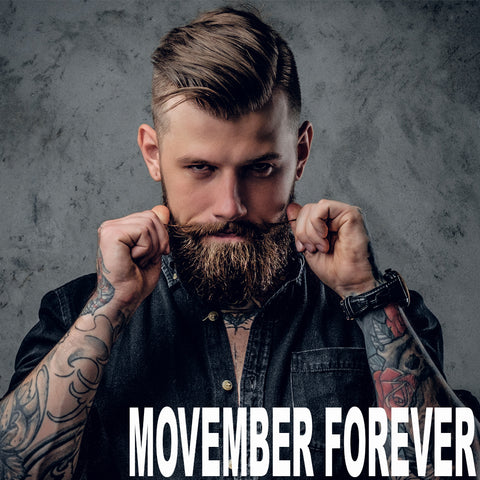 Movember Forever Biotin Beard Growth and Thickening Shampoo 8.5oz.