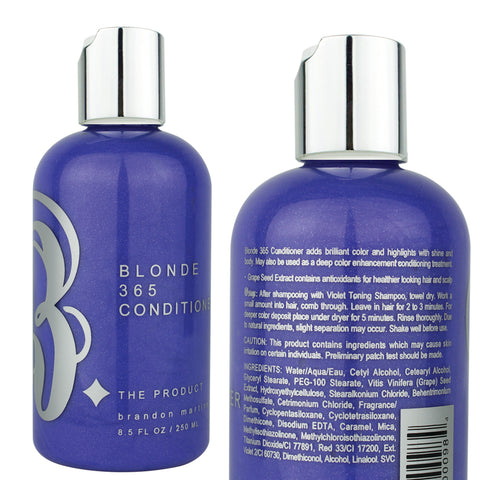 Blonde 365 Conditioner-Powerful Purple Toning Conditioner 8.5oz.
